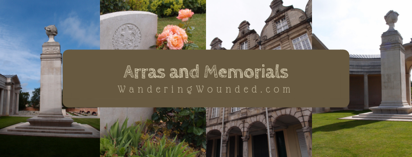 Arras town, cemetery and memorial