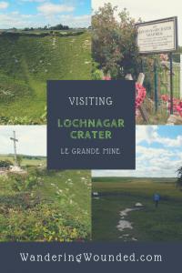 WanderingWounded.com   Lochanagar Crater (La Grand Mine)