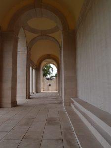 Under the Arras memorial