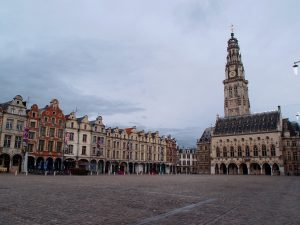 Place des Heros, Arras, belfry
