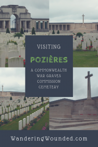 WanderingWounded.com | Pozieres Cemetery