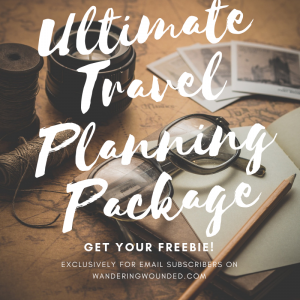 Click here to get the FREE Ultimate travel planning package