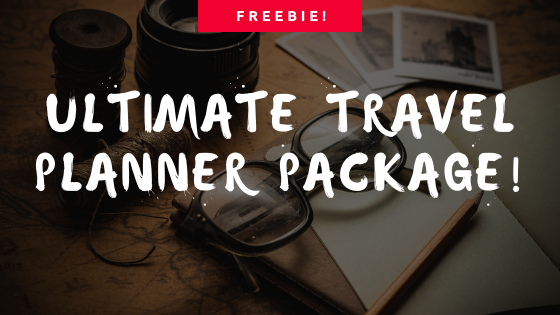FREEBIE: Ultimate Travel Planning Package