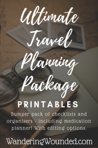 WanderingWounded.com | Ultimate Travel Planning Package