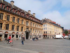 Cobbles, Place du Theatre, Lille