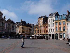 Lille old city