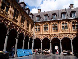 Vieille Bourse market interior, Lille