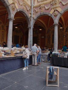 Book stall, Vieille Bourse market, Lille