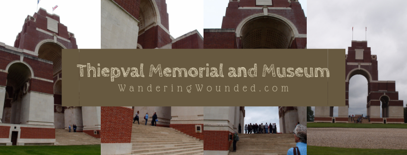 WanderingWounded.com | Thiepval Memorial and Museum