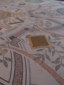 WanderingWounded.com | Petit Palais - mosaic floor