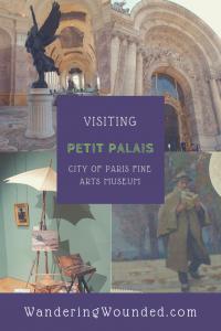WanderingWounded.com | Petit Palais