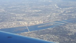 Harrisburg from the air