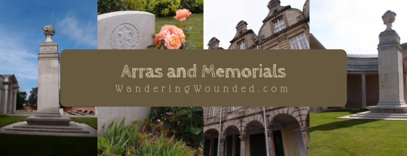 VISIT: Arras City Centre, Arras Memorial and Cemetery