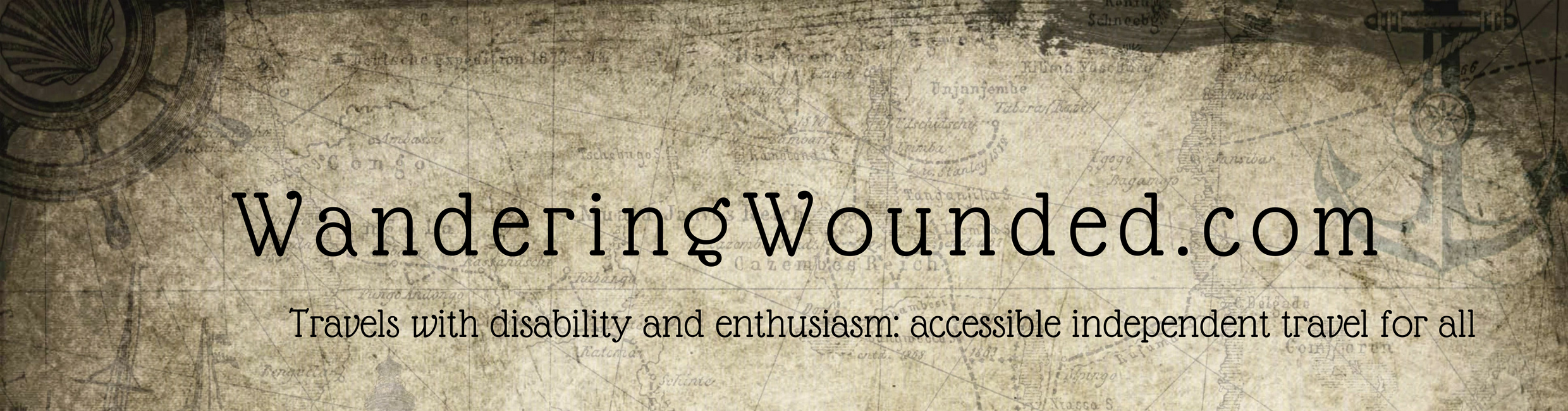 WanderingWounded.com | Travels with disability and enthusiasm: accessible independent travel for all