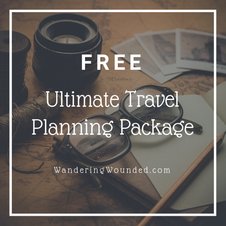 Get the ultimate planning package when you join the email list